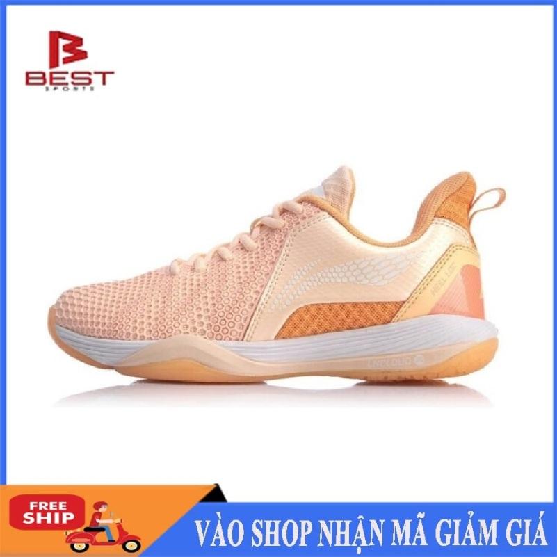 Giày cầu lông Lining nữ AYZQ002-2 mẫu mới, chuyên nghiệp - Giày chơi cầu lông - GIày bóng chuyền - shop thể thao giá rẻ