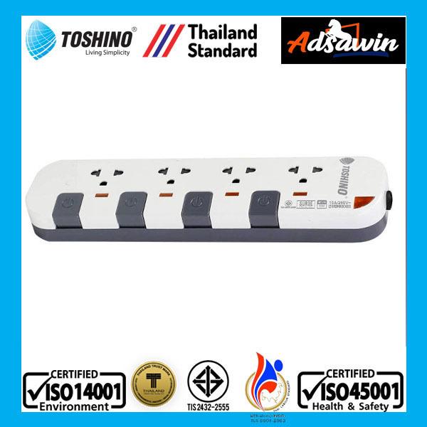 Ổ CẮM CAO CẤP THÁI LAN TOSHINO P4375-3M giá rẻ