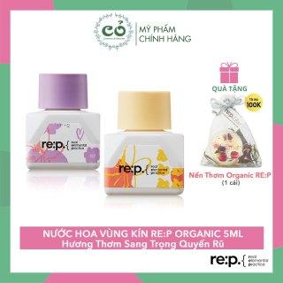 Nước Hoa Vùng Kín Rep Organic Lành Tính, An Toàn RE P Natural Herb Innerbalance 5ml thumbnail