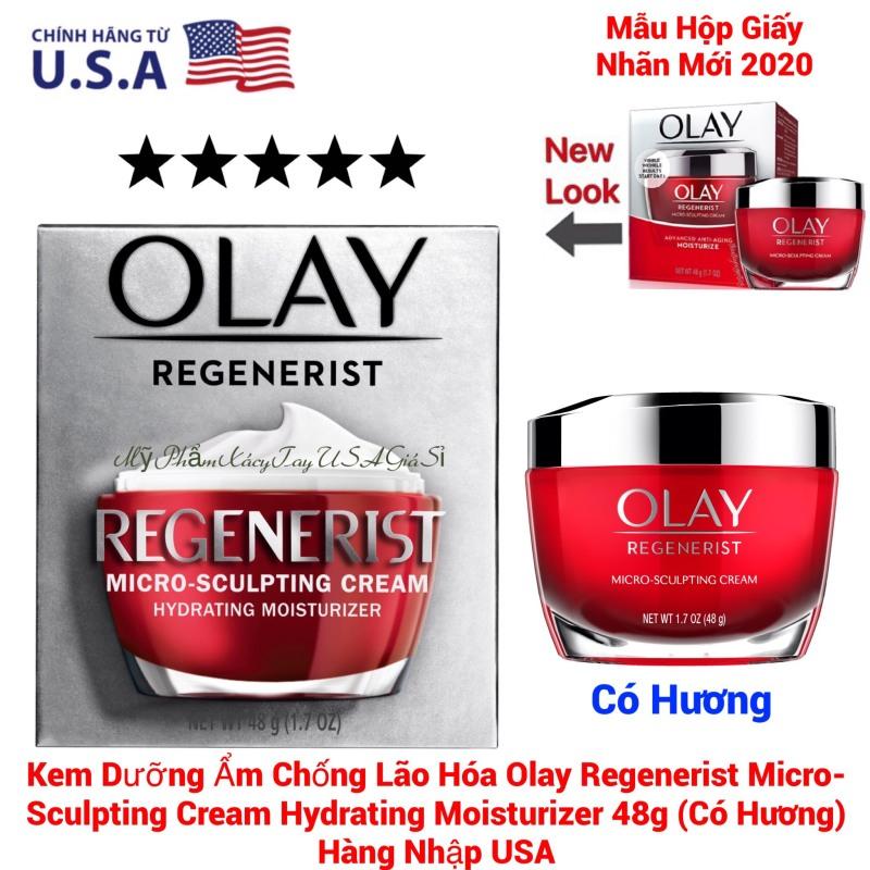 Kem chống lão hoá OLAY Regenerist Micro-sculpting Cream Advanced anti-aging Moisturize 48g giá rẻ