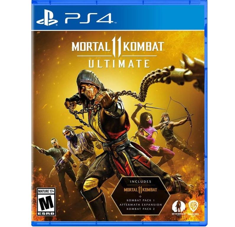 Đĩa Game Mortal Kombat 11 ULTIMATE PS4