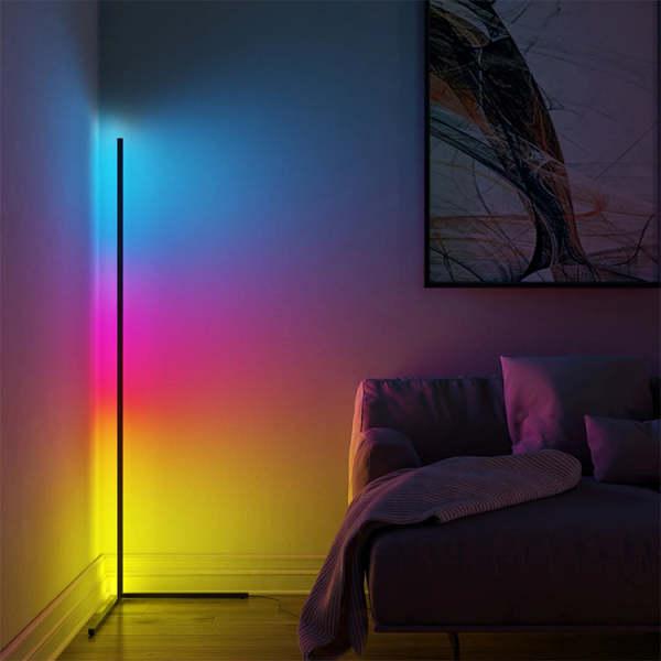 Bảng giá [Đèn Led đứng góc tường RGB 2021] Trang Trí Phòng Khách, Phòng Ngủ, Phòng Game kèm điều khiển