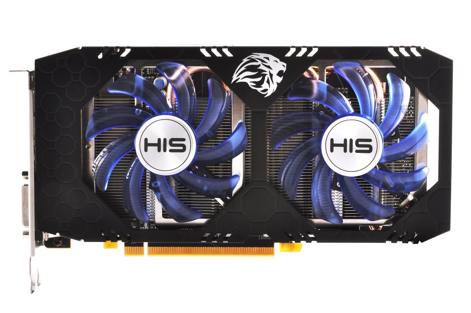 Card VGA RX 480 8G DDR5 HIS 2 Fan