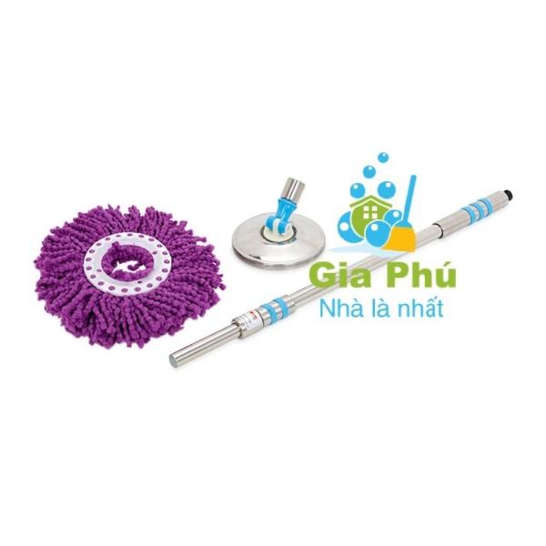 Cây lau nhà Thái Lan inox đặc cao cấp TL-999 Gia Phú (Hàng Thái Lan - Khác hàng VN)