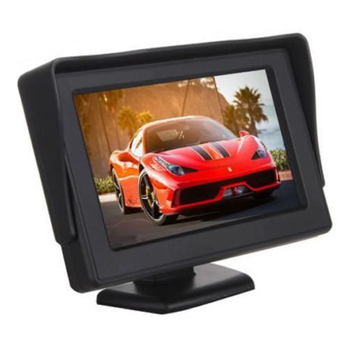 Giá 4.3 inch Portable Color LCD Car Backup Monitor Screen