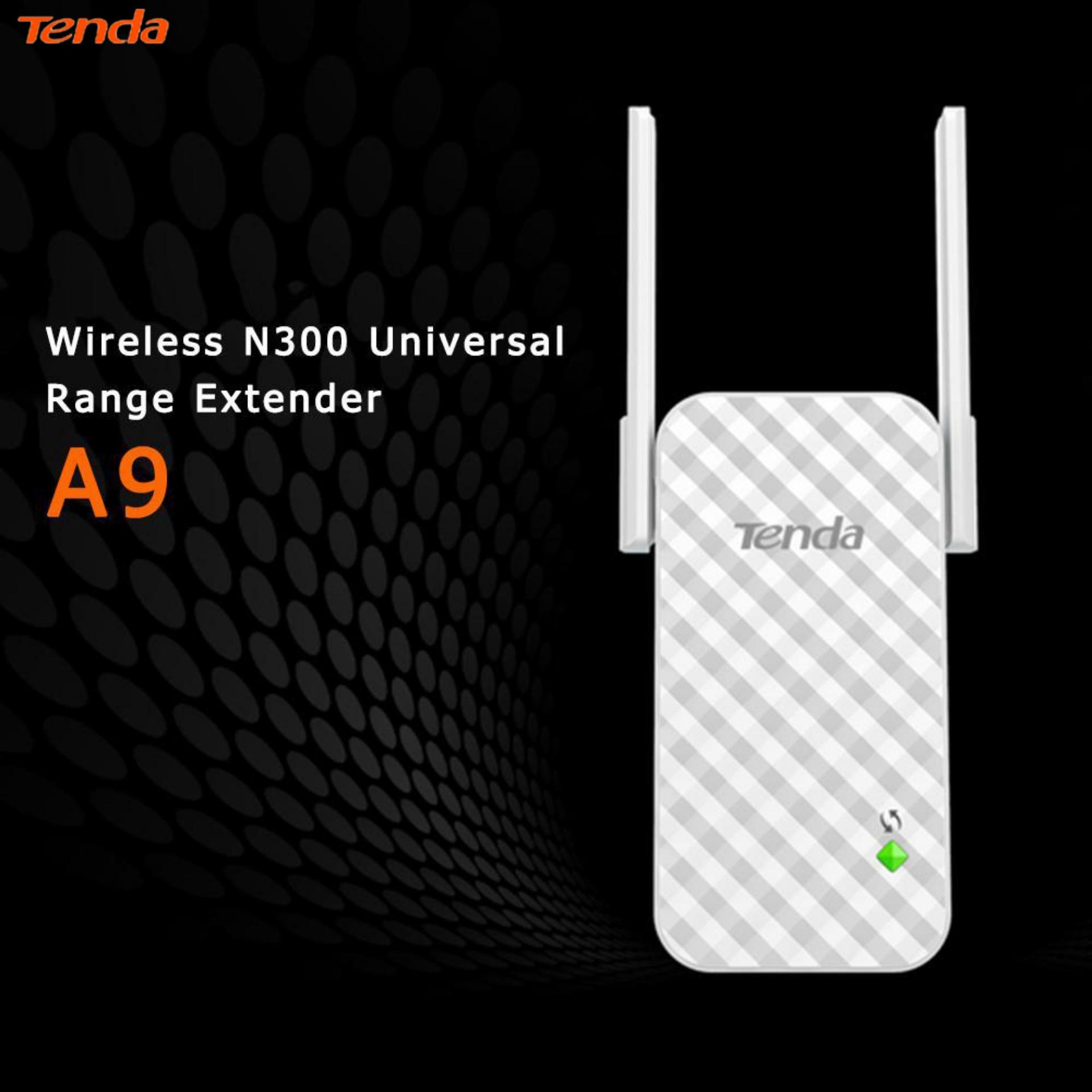 Giá Tenda(Low Price/High Quality)A9 300Mbps Wireless Repeater Router WiFi Signal Extender Amplifier