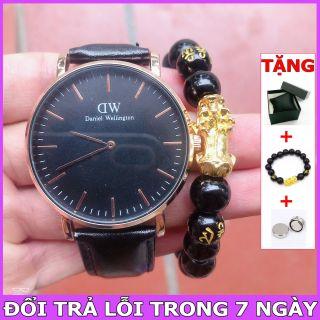 (FULLBOX) Đồng hồ Dây Da Size Nam Nữ [ Đồng hồ thể thao - Đồng hồ dây da dây thép - Đồng hồ cặp - Đồng hồ nữ chống nước - Đồng hồ nữ ] thumbnail