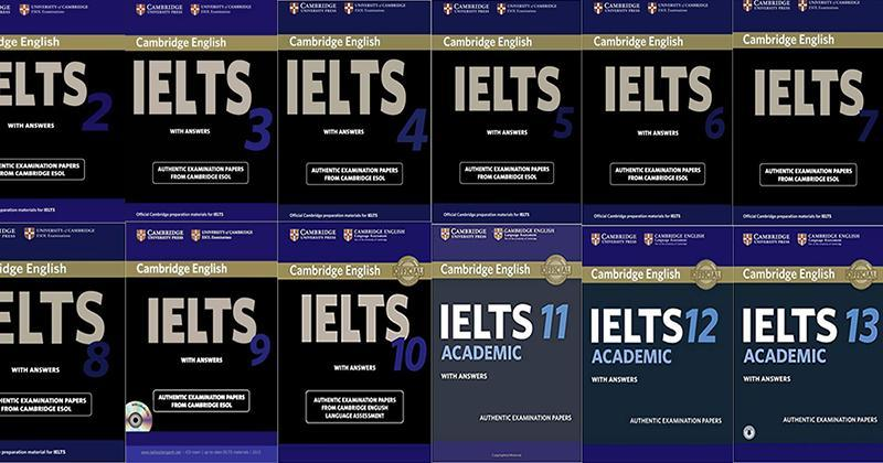 Sách Tiếng Anh - Combo Sách Cambridge English IELTS with answer (14 cuốn)