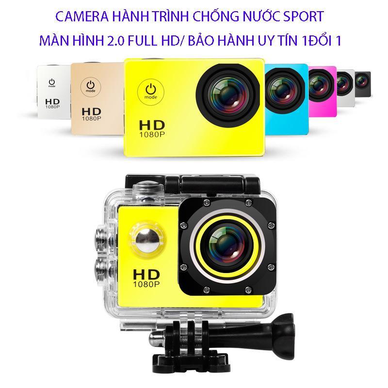 camera mini-camera hành trình 4k- camera hành trình mini mẫu mới 78998-Camera Hanh Trinh Tren Xe May, Mua Ngay Camera Hành Trình Sport Full Hd 1080 cao cấp, Chống Bụi Chống Nước Tốt, BH uy tín 1 đổi 1 Nhật Bản