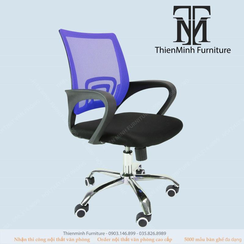 Ghế văn phòng E0-Nomaline-415(xanh lam) giá rẻ