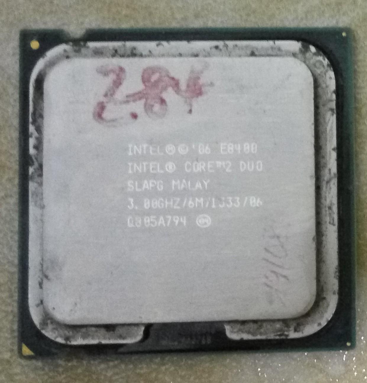 Giá Bộ Xử Lý Intel® Core™2 Duo E8400