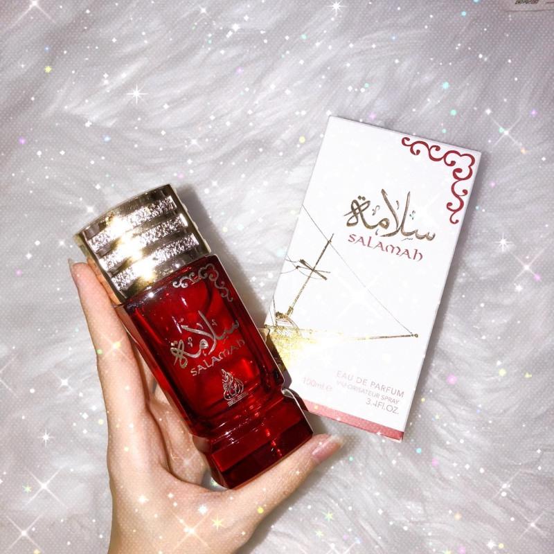 Tinh dầu nước hoa dubai Salamah hương hoa hồng quyến rũ 100ml