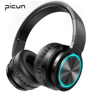 Tai Nghe Không Dây Picun B12, Tai Nghe Bluetooth 5.0, Đèn Led 7 Màu, Thời Gian Phát 36 Giờ, Hỗ Trợ Tai Nghe Thẻ TF thumbnail