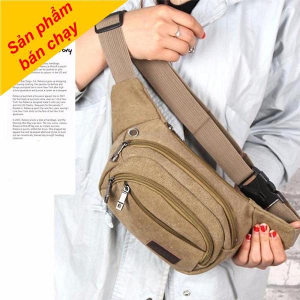 Túi đeo hông Wanfuniao, Túi Đeo Bụng, Túi Đeo Ngang Hông Vải Bố