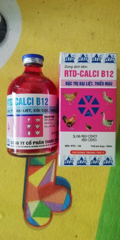 1 lọ RTD - CALCI - B12 loại 100 ml ĐẶC TR-Ị BẠI LIỆT CÒI CỌC THIẾU MÁU