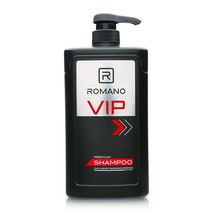 Dầu Gội Cho Nam Romano VIP 650g chính hãng
