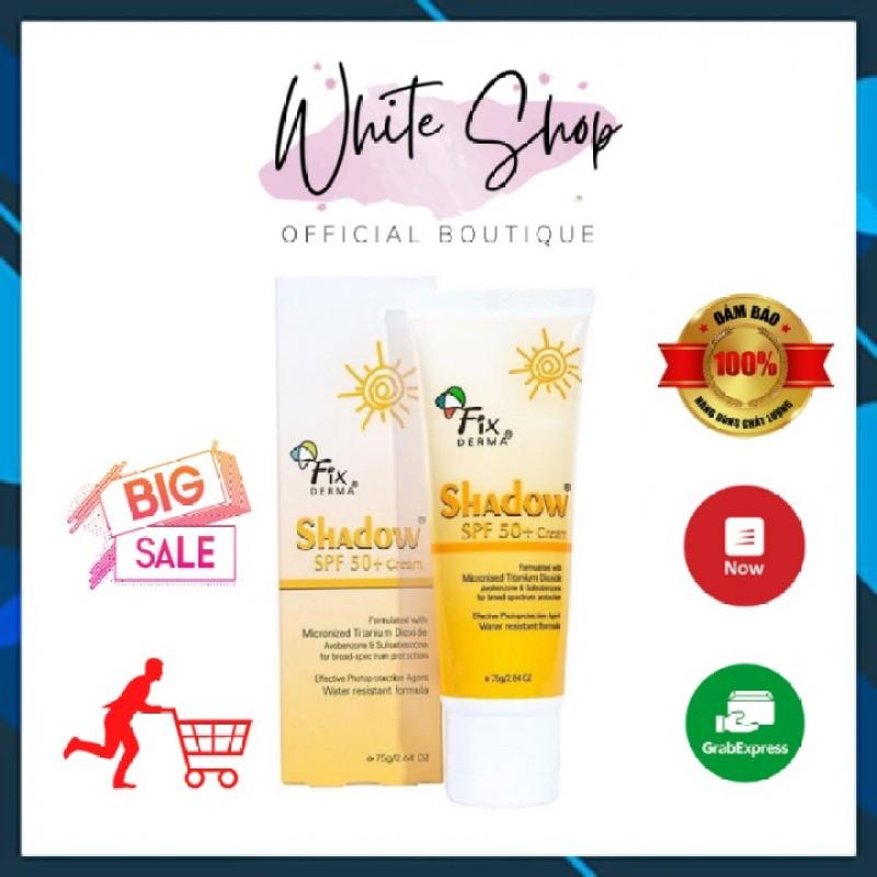[Hàng Chính Hãng]Kem chống nắng Fixderma shadow SPF 50+ cream 75gram White Store