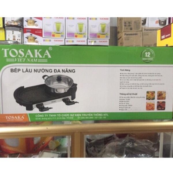 Bếp Lẩu Nướng Đa Năng Tosaka Tk-560 Bh 12 Tháng