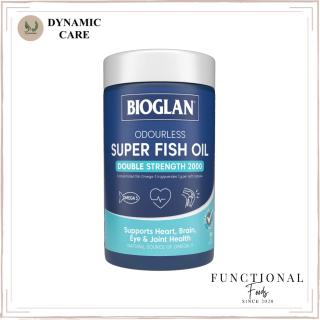 [Hàng chuẩn Úc] Viên uống dầu cá hàm lượng cao không mùi Bioglan odourless super fish oil 2000mg 200 viên của Úc thumbnail