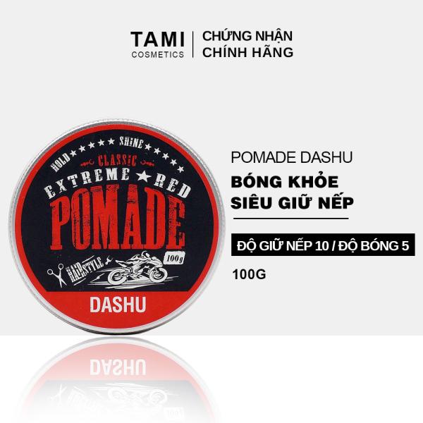 Pomade tạo kiểu tóc DASHU Extreme Red 100g sáp vuốt tóc nam Giữ nếp tốt phù hợp cho tóc xoăn TM-PM03 nhập khẩu