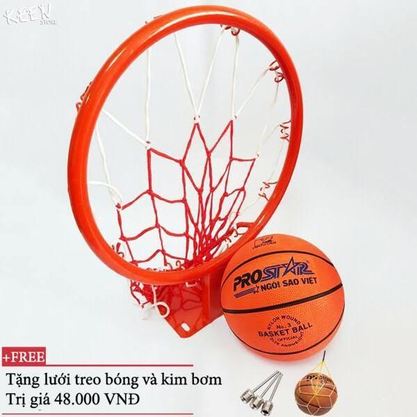 Combo bộ sản phẩm Vành bóng rổ 30, 35, 40cm + quả bóng rổ số3,5, 6,7 ĐỒ TẬP TỐT