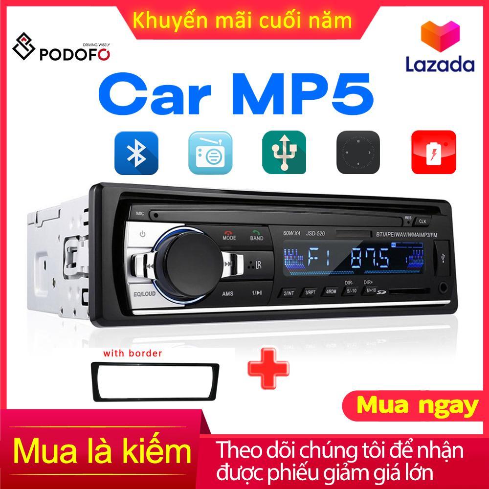 1din In-Dash Car Radio Stereo điều Khiển Từ Xa Kỹ Thuật Số âm Thanh Bluetooth âm Thanh Stereo 12V Car Radio MP3 Player USB/SD/AUX-IN Giá Tốt Không Thể Bỏ Qua
