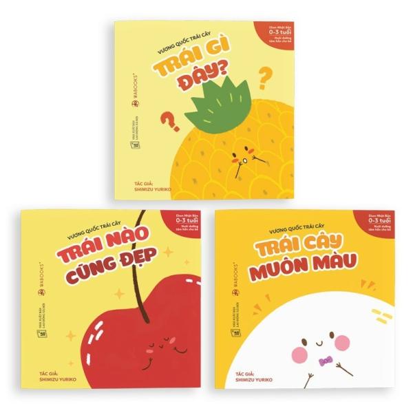 Mua Sách Ehon - Combo 6 cuốn Vương quốc trái cây và Phép so sánh diệu kỳ - Dành cho trẻ từ 0 - 3 tuổi.