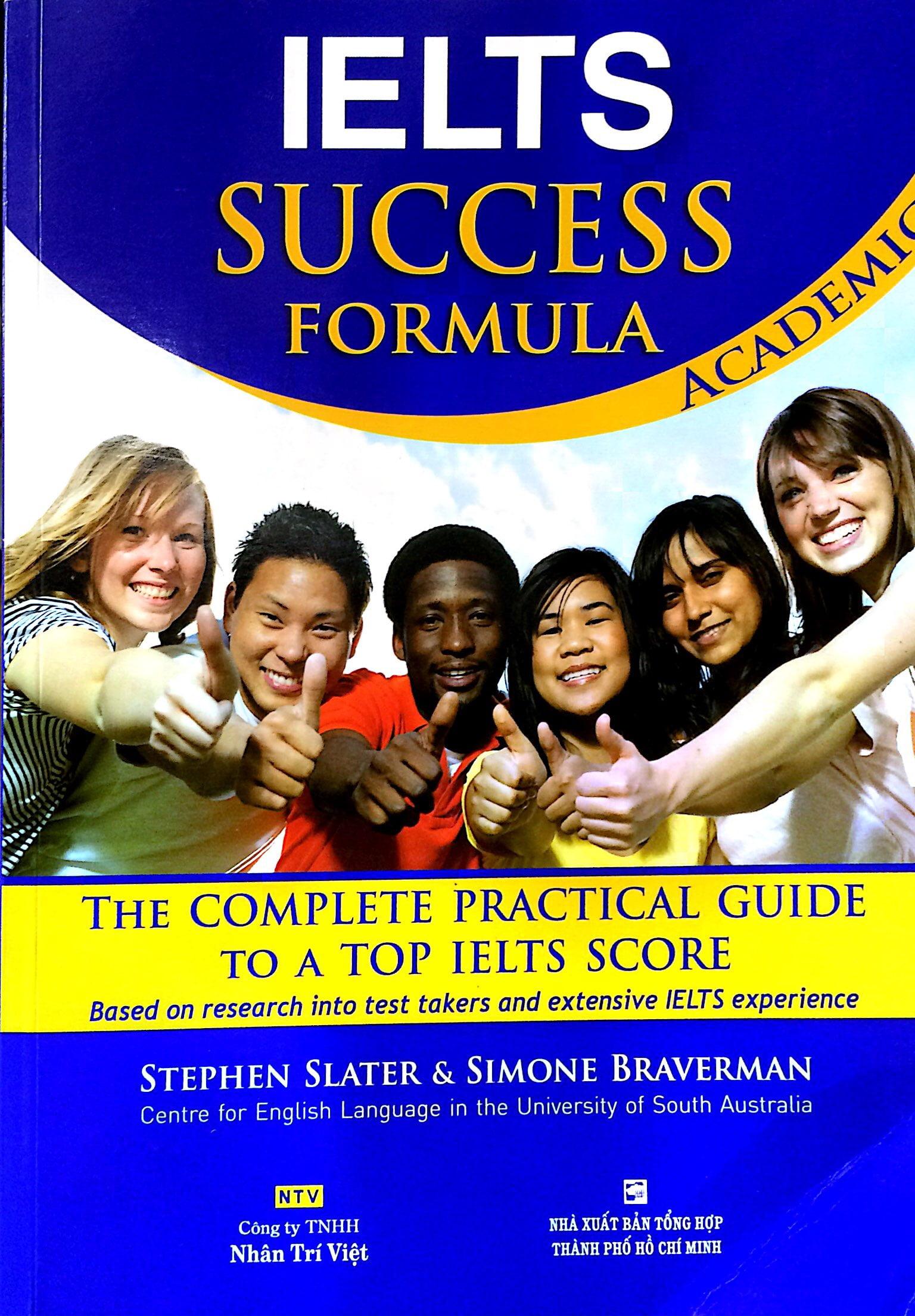 Fahasa - IELTS Success Formula Academic (+CD)