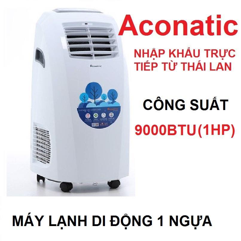 Bảng giá Máy Lạnh Di Động NHẬP KHẨU THÁI LAN Aconatic 9000BTU (1HP) Điện máy Pico