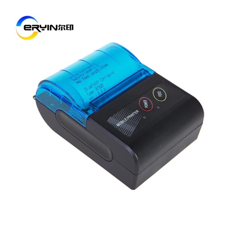 Máy in Bluetooth - USB Mini- Mobile Printer