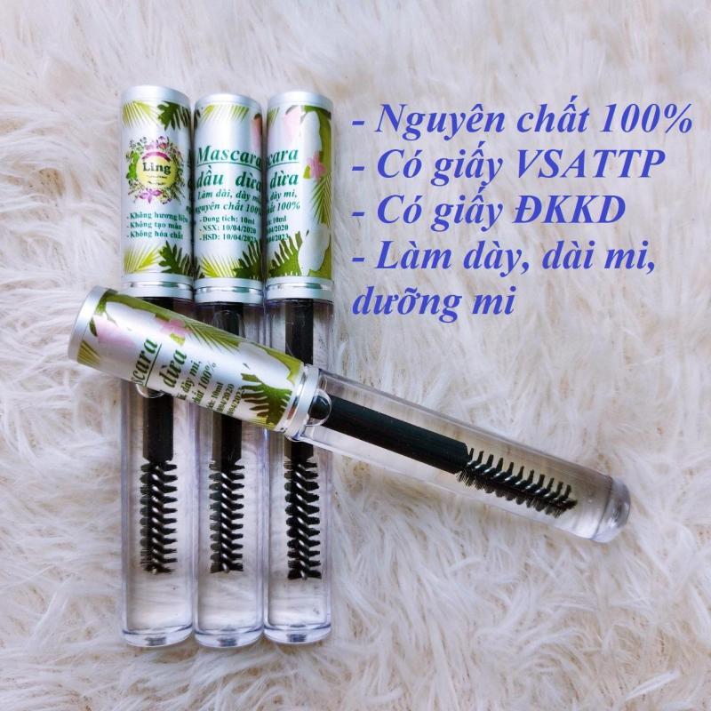 Chuốt mi dầu dừa dưỡng mi cong (macara dầu dừa) nguyên chất 100% nhập khẩu