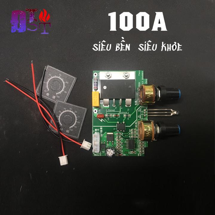 Mạch timer điều chỉnh dòng và áp máy hàn điểm, hàn cell BTA100