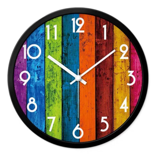 Nơi bán [Flash Sale] Đồng hồ treo tường kim trôi phong cách Bắc Âu