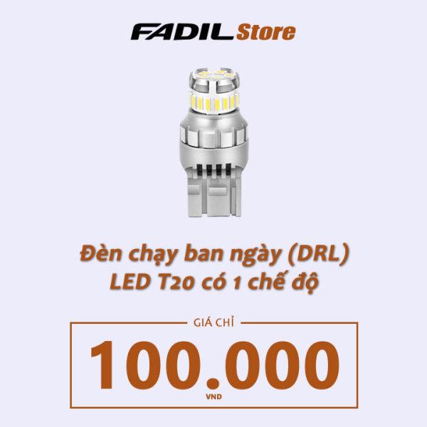 [SL 1] - Đèn LED T20 có 1 chế độ DayLight cho VinFast Fadil