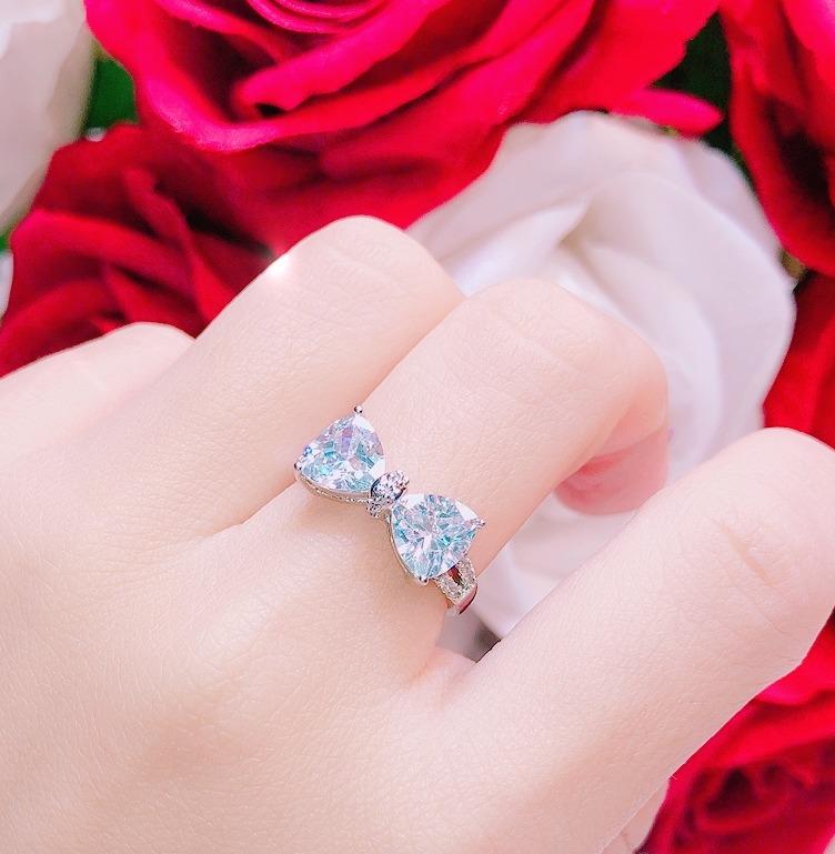 [HCM]Nhẫn bạch kim nữ nhẫn nữ bản lớn dát kim cương nhân tạo hoa cúc đại đóa đính đá pha lê thiết kế siêu sang trọng sáng lấp lánh xinh đẹp tỏa sáng quyến rũ CAM KẾT KHÔNG ĐEN Trang Sức Gami N034 - đeo đi tiệc đám cưới đẹp