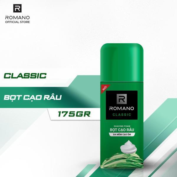 Bọt cạo râu Romano hương Classic 175ml giá rẻ