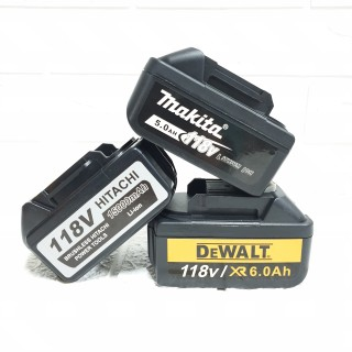 Pin máy siết bulong, máy khoan 118V Pin 10 cell cao cấp HItachi, Makita, Dewalt thumbnail