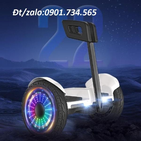 Giá bán Xe điện cân bằng - xe cân bằng 2 bánh có tay cầm - bảo hành 12 tháng