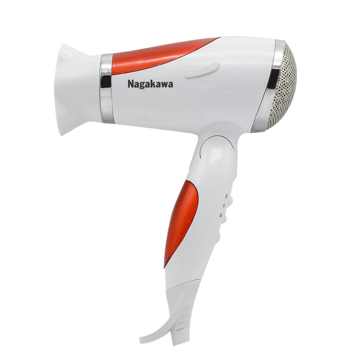 Máy sấy tóc Nagakawa NAG1602 Màu Đỏ - Hàng chính hãng