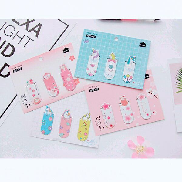 Mua Bookmark Unicorn set 3