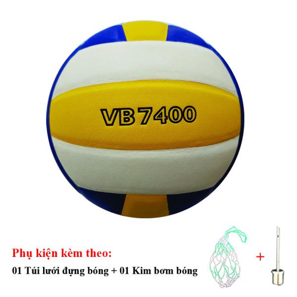 Bóng Chuyền Thăng Long VB7400 + Túi Lưới Đựng Bóng + Kim Bơm Bóng