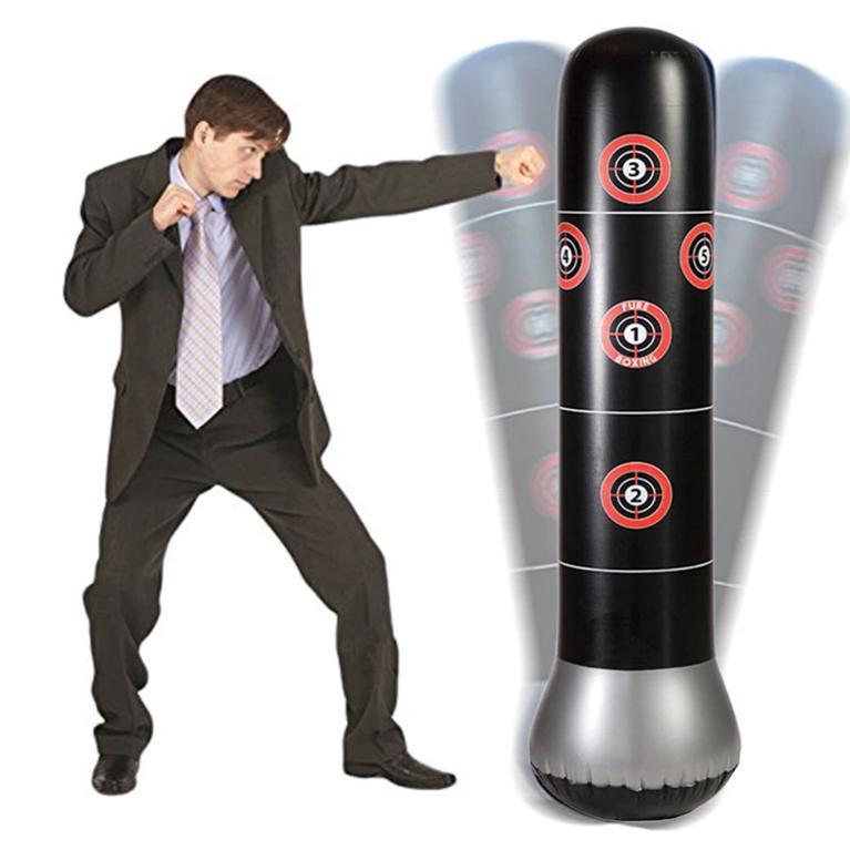 Bao trụ đấm bốc tự cân bằng tại nhà, văn phòng... - Thiết bị tập đấm boxing LOẠI TỐT Nhật Bản