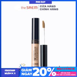 Kem che phủ khuyết điểm The Saem Cover Perfection Tip Concealer 6.5 ml Hàn Quốc thumbnail