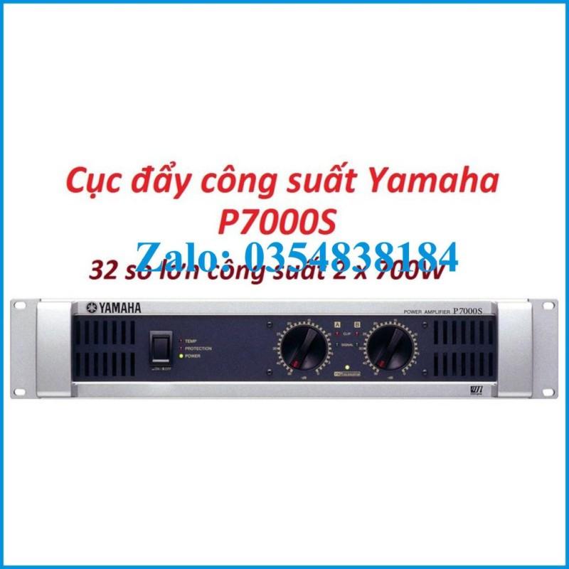 Cục Đẩy Công Suất Yamaha P7000S  32 Sò Lớn