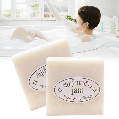 Offer Ưu Đãi Combo 6 Cục Xà Bông Kích Trắng Sữa Gạo Collagen + Gluta Thái Lan Dùng được Cho Da Mặt Và Da Toàn Thân - Xà Phòng Thái Lan