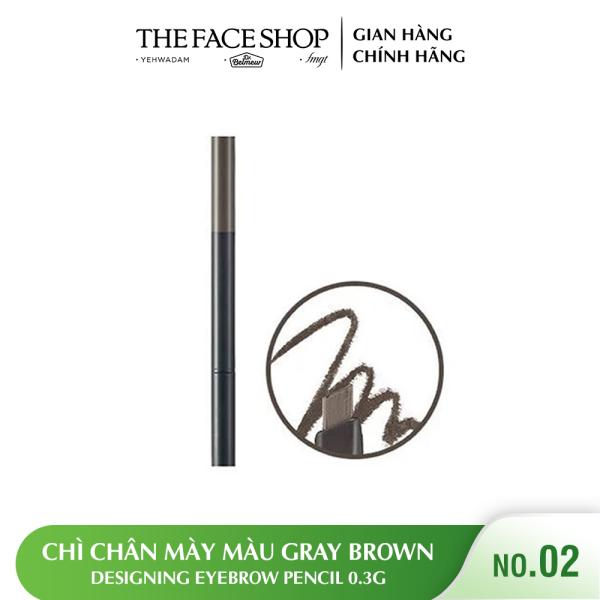 Chì Chân Mày TheFaceShop Designing Eyebrow Pencil