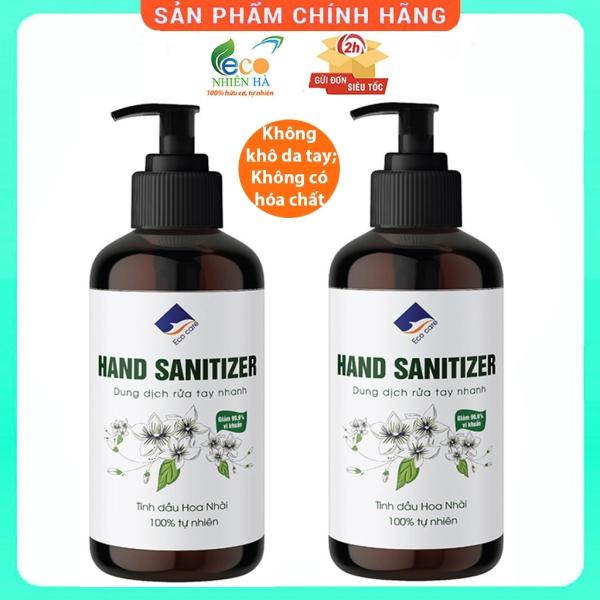 Nước rửa tay ECOCARE 500ml, nước rửa tay khô diệt khuẩn siêu nhanh dạng gel giá rẻ