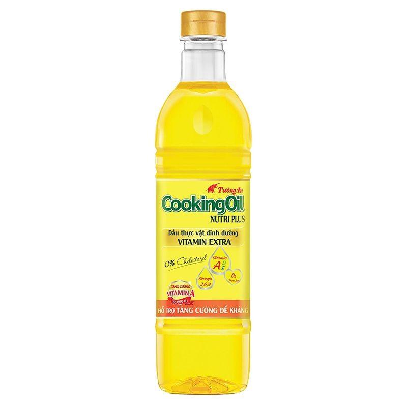 Dầu ăn Tường An Cooking Oil Nutri Plus chai 1L