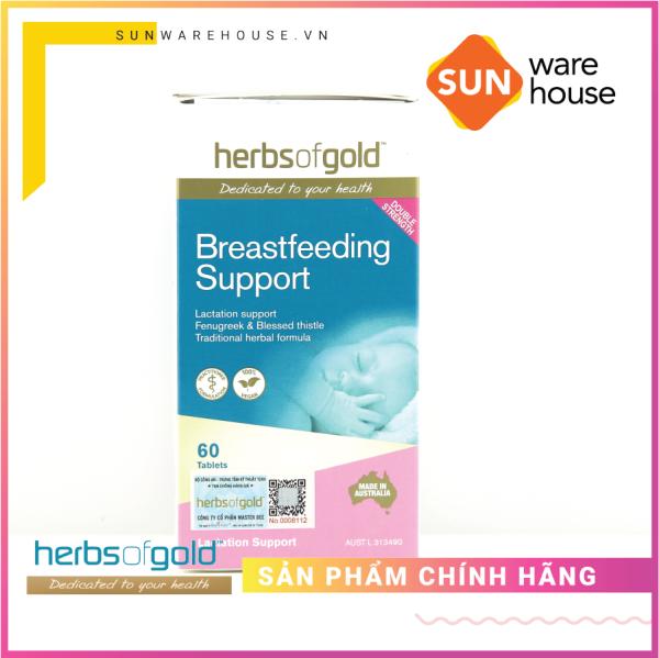 Viên uống lợi sữa - Herbs of Gold Breastfeeding Support