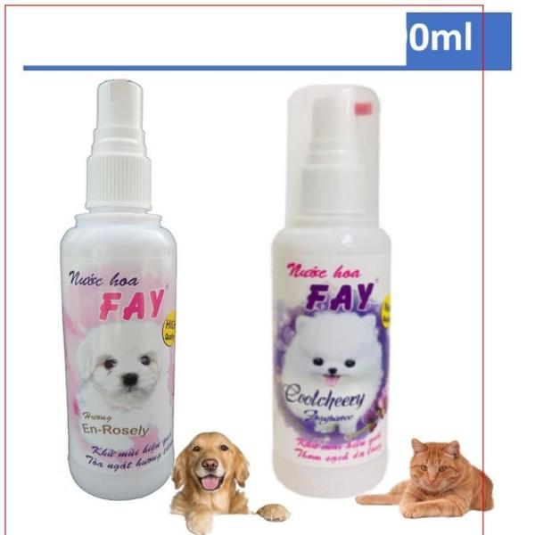 Hanpet.HCM Nước hoa chó mèo 90ml (2 loại) Nước hoa Fay CoolCheery En-Rosely cho thú cưng